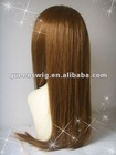 100% Raw human hair fashion natural straight Kosher Jewish wig
