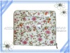 Tapestry cosmetic /make up bag wild flowers bag