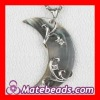 925 Sterling Silver Moon Shell Pendants