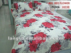 Hot Sale, 100% polyester bed sheet set/bedding sets