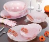 15pcs Glassware Round Shape Dinner Set