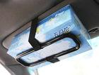 Car sun visor Tissue paper box holder Auto seat back accessories hold clip