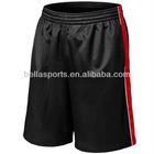 custom cheap dry fit international black basketball short for men