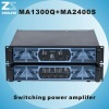 Switching high output amplifier