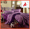 New 100% Cotton Violet Bedding Set 4pcs