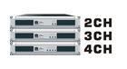 HA25 2600W*2 professional power amplifier