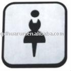 Toilet Door Sign Plate HR-3111