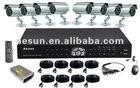 H.264 DVR Outdoor Camera CCTV Security System