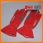sparco red racing rally safety gloves glove