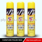 aerosol shinny Furniture Polish wax