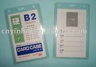 PVC name card case