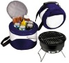barbecue with cooler bag