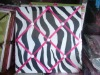 Zebra cotton fabric + E1 MDF with sponge memo board