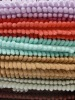 polyester 100% colourful microfiber rug and mats