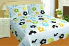 hot sell flower printing bedspread
