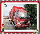 Top quality Famous Foton 4*2 mini cargo truck