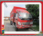 Top quality Famous Foton 4*2 mini cargo truck
