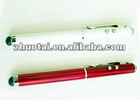 screen touch pen+ ball point pen+ laser pointer+LED light