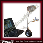 Cheapest price 13 LED USB laptop fan with lamp