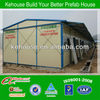 Light steel structure prefabricated movable building