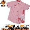 Boy's Short Sleeves Shirt Child Wear HSC110199