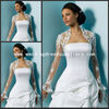 JAC071 Best Selling Flare Long Sleeves Lace Bridal Jacket