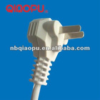 QIAOPU 10A 250V China CCC power cord plug