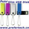 Cheapest! Swivel USB Flash Drive Slim Shape Full Capacity CE FCC ROSH H2 Test Logo Printed Promotional Swivel USB Flash Drive
