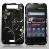 rubberized hard case for LG Connect 4G ms840