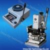 Pvc card hot stamping machine