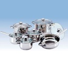 BG-01C 12PCS S/S COOKWARE SET