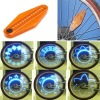 14 Blue-LED Bicycle Spoke Light