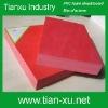 Foam PVC board with rigid surface versatile usage