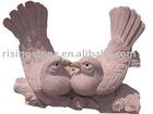 Chinese Stone Bird Sculpture