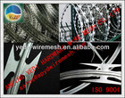 Factory!!!!! Cheap!!!! China factory BTO-18 hot-dipped galvanized concertina wire/razor barbed wire for army
