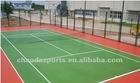 acrylic tennis flooring court
