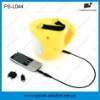 high power LED rechargeable solar lantern light with mobile phone charger(PS-L044)