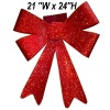 Ribbon Bow Tie - Red