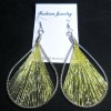 golden thread Earrings