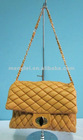 2012 NEW Fashion Ladies' Quilted Soft PU Leather Crossbody Bag, Brand Inspired Chain Shoulder Bag