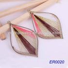 2012 alloy earring jewerly leaf shape earrings