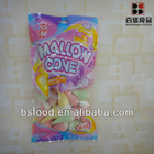 colorful mallown cone candy