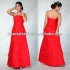 2012-2013 red color off shoudler delicious summer season elegant cocktail & ball eveing dresses & wedding dresses