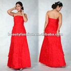 2012-2013 red color off shoudler delicious summer season elegant cocktail & ball eveing dresses & wedding dresses