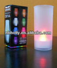 238614-001Colorful LED tea light candle with cup holder