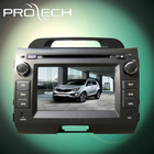 7'' KIA 2010 spartage car Monitor Video Entertainment dvd Device with GPS BT TV RADIO PIP 3D MENU