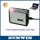 USB Cassette Tape Converter to Music MP3 CD Player PC