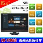 "15.6"" to 22"" Super Slim Android 4.0 TV with TV WIFI HDMI VGA USB SD reader KA-1788GL"