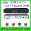 4CH H.264 Full D1 DVR