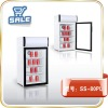 80L glass cooler